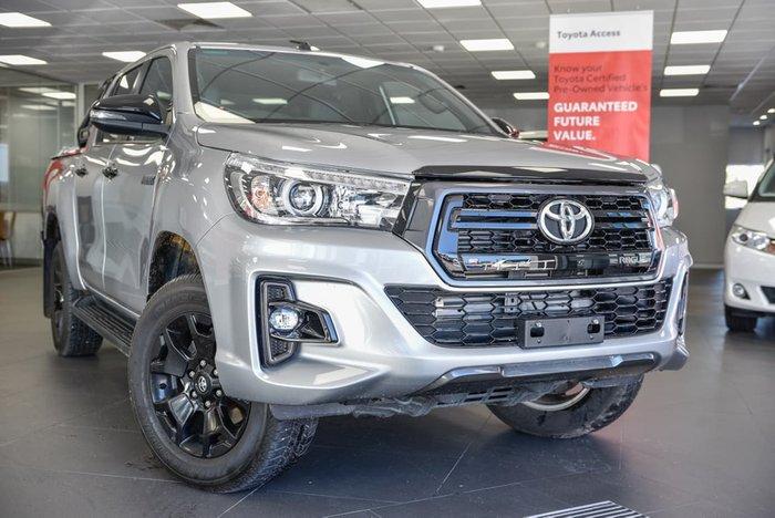 2018 Toyota Hilux Rogue GUN126R 4X4 Dual Range Silver