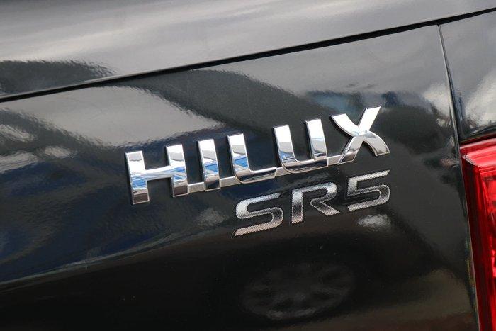 2013 Toyota Hilux SR5 KUN26R MY14 4X4 Black