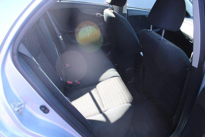 2007 Toyota Corolla Ascent ZRE152R Silver