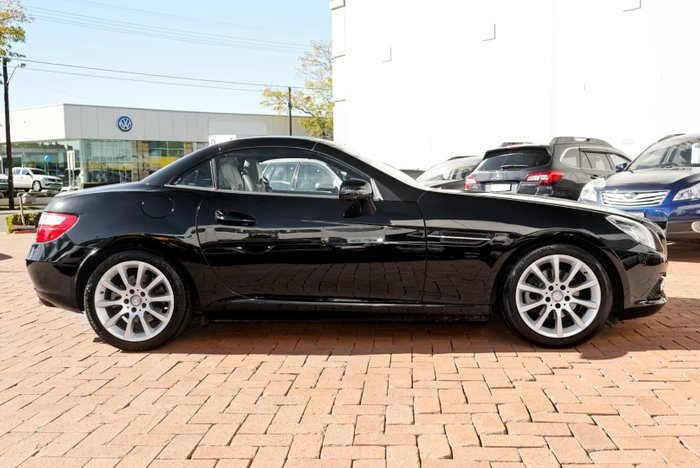 2011 Mercedes-Benz SLK200 BlueEFFICIENCY R172 Black
