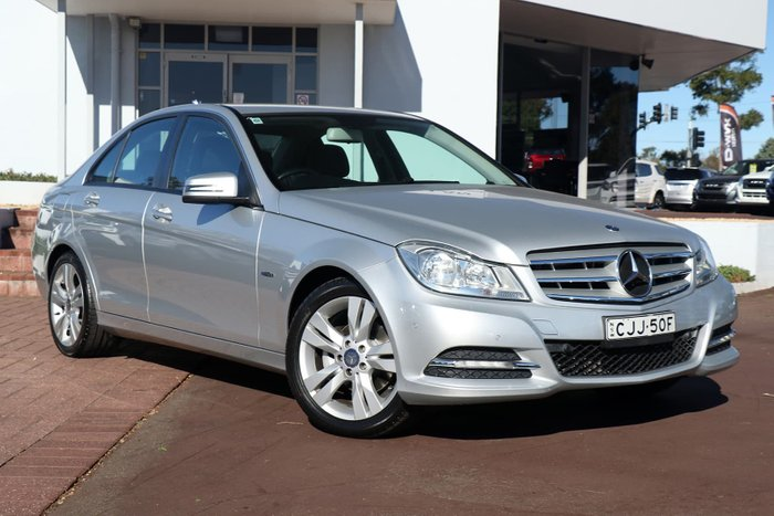 2011 Mercedes-Benz C200 CDI BlueEFFICIENCY W204 MY11 Silver