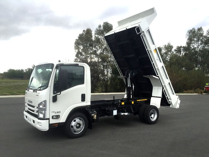 2019 Isuzu Nh Series NPR NH White