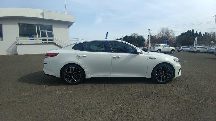 2018 Kia Optima GT JF MY19 White