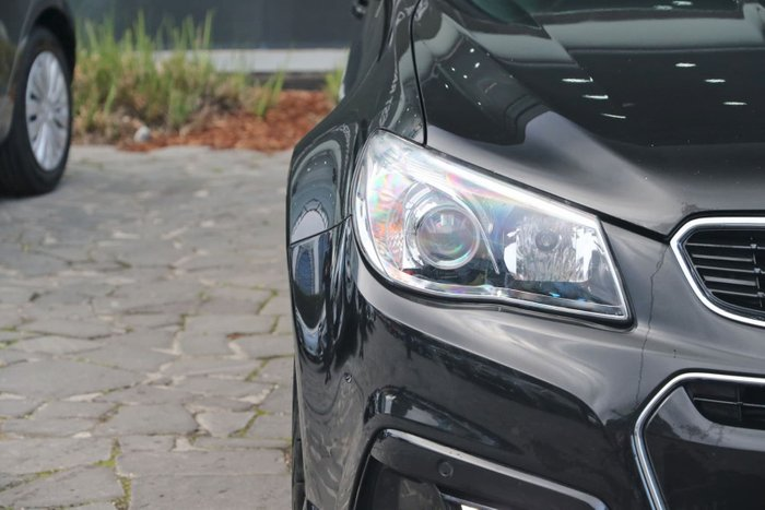 2013 Holden Commodore SV6 VF MY14 Black