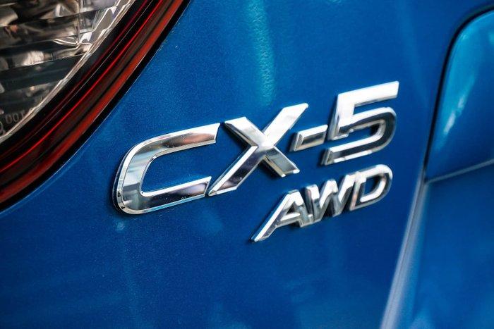 2012 Mazda CX-5 Maxx Sport KE Series Four Wheel Drive Blue