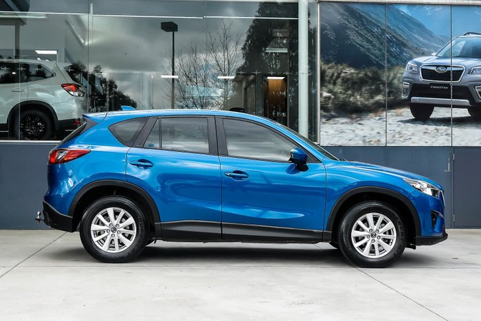2012 Mazda CX-5 Maxx Sport KE Series Four Wheel Drive Blue