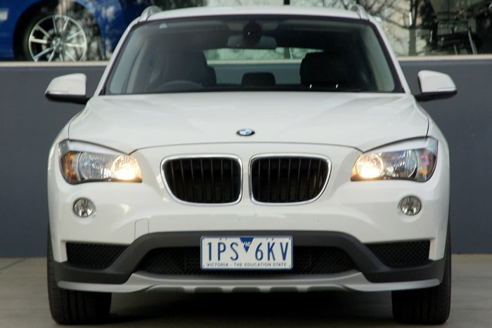 2015 BMW X1 sDrive18d E84 MY15 White