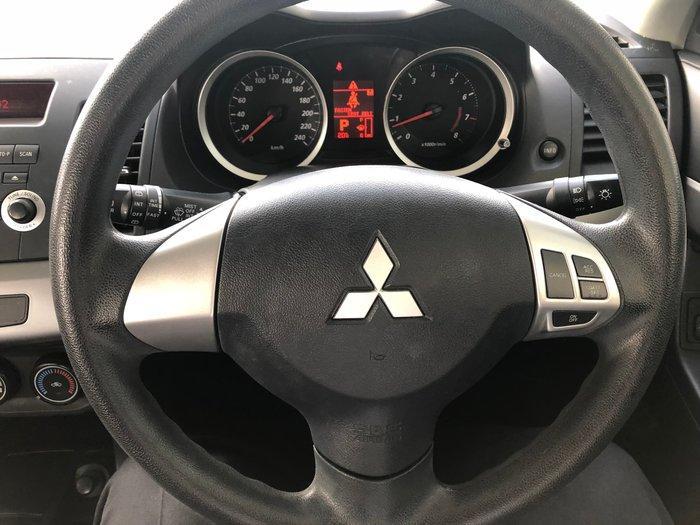 2009 Mitsubishi Lancer RX CJ MY10 Gold