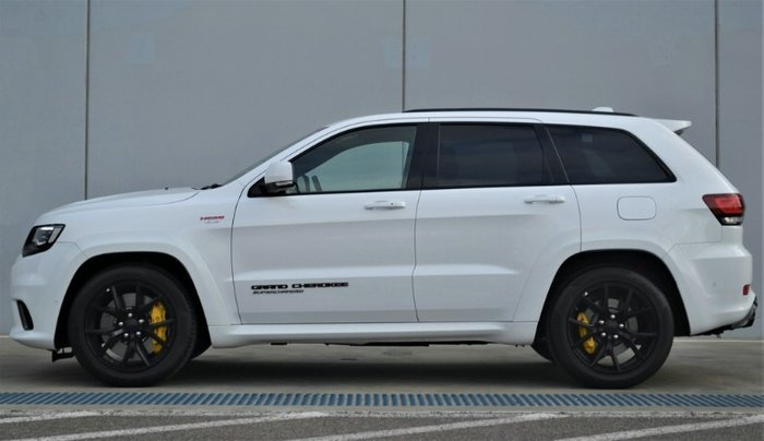 2018 Jeep Grand Cherokee Trackhawk WK MY18 4X4 On Demand BRIGHT WHITE