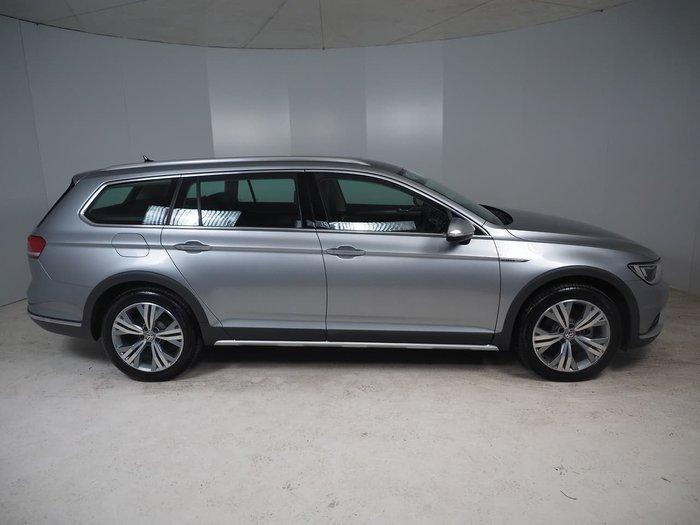 2018 Volkswagen Passat 140TDI Alltrack B8 MY18 Four Wheel Drive Silver