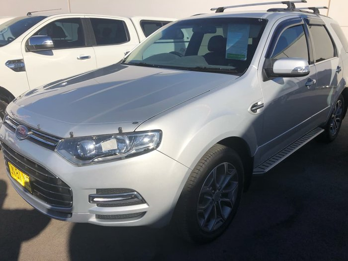 2011 Ford Territory Titanium SZ Silver