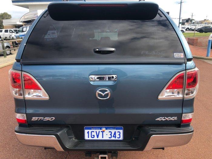 2015 Mazda BT-50 XTR UP 4X4 Dual Range Blue