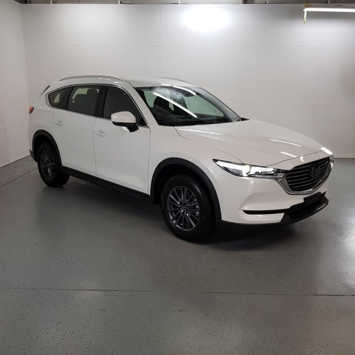 2019 Mazda CX-8 Sport KG Series White