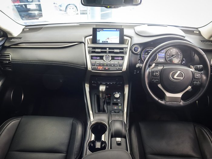 2016 Lexus NX NX300h Sports Luxury AYZ15R 4X4 On Demand Silver