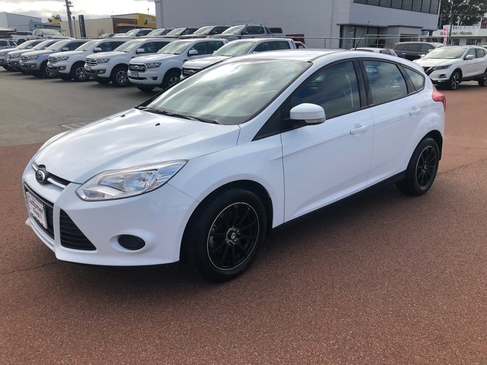 2012 Ford Focus Ambiente LW MKII White