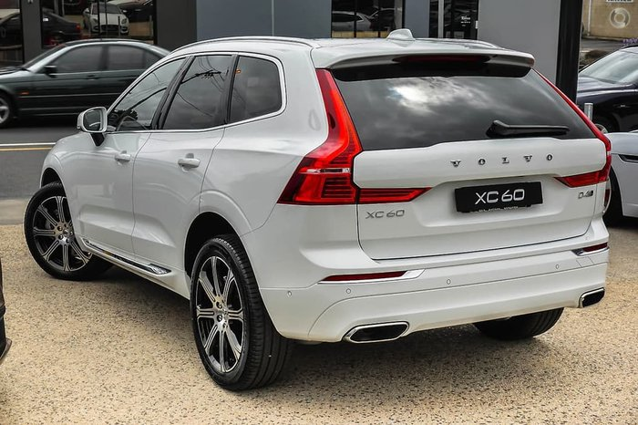 2019 Volvo XC60 D4 Inscription MY19 Four Wheel Drive White