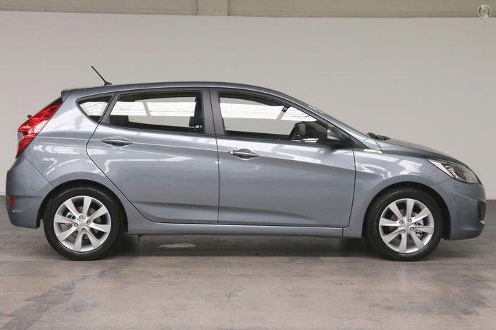 2019 Hyundai Accent Sport RB6 MY18 Silver
