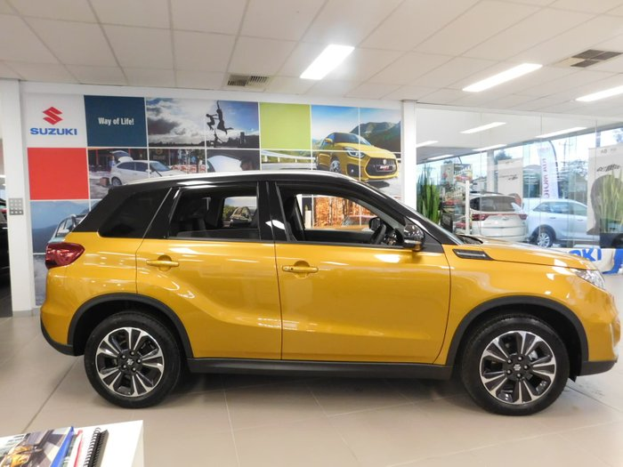 2019 Suzuki Vitara Turbo LY Series II Yellow