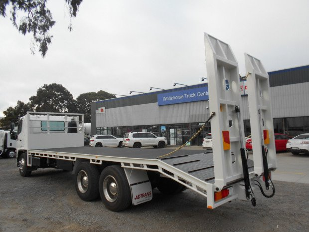 2013 Hino FM 2628-500 Series NEW BEAVERTAIL WHITE