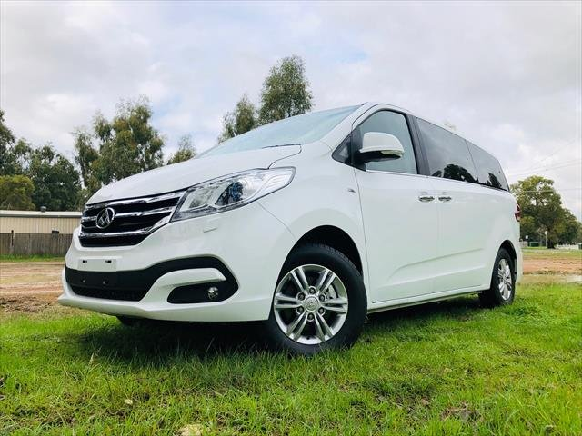 2018 LDV G10 G10 9 SEAT PEOPLE MOVER 6SP AUTO PETROL BLANC WHITE