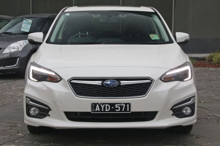 2018 Subaru Impreza 2.0i-S G5 MY18 Four Wheel Drive White