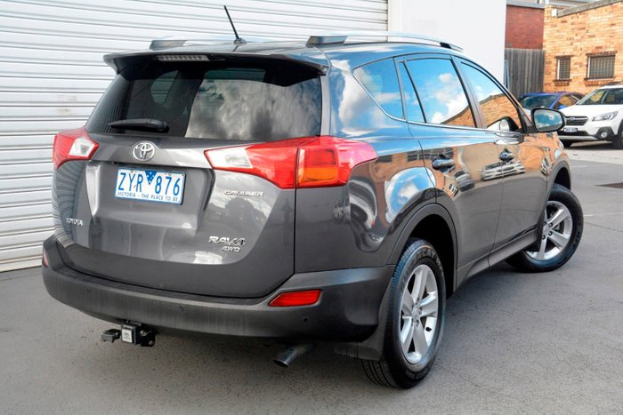 2013 Toyota RAV4 Cruiser ALA49R 4X4 On Demand Grey