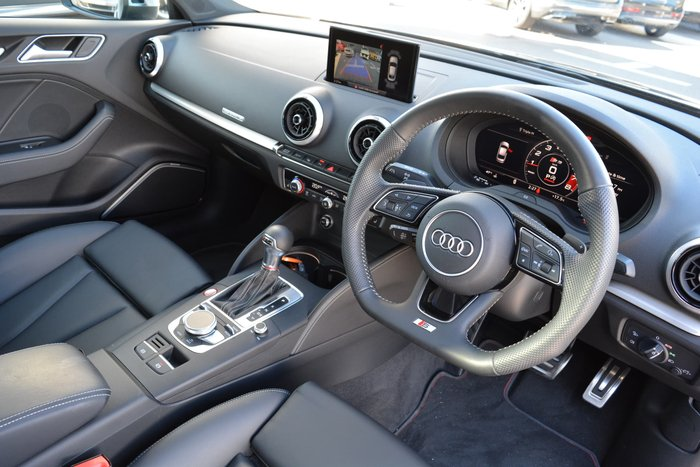 2019 Audi S3 8V MY19 Four Wheel Drive Grey