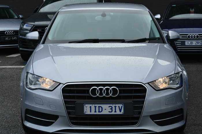 2015 Audi A3 Attraction 8V MY16 Silver