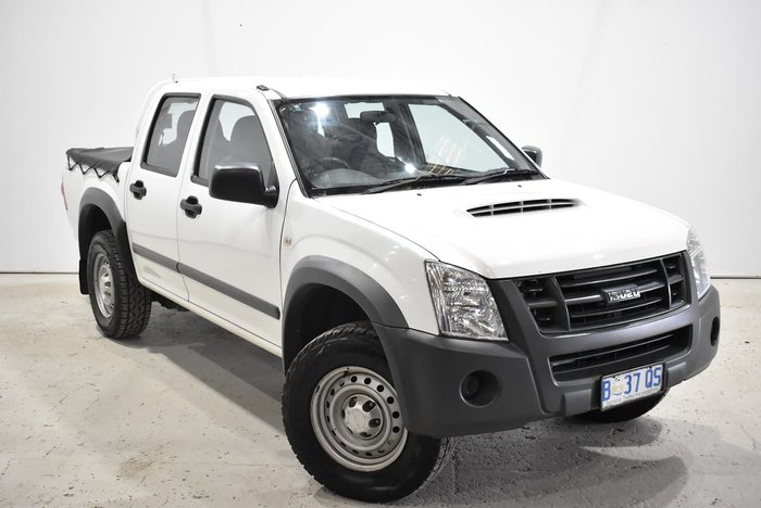 2010 Isuzu D-MAX SX High Ride MY10 White
