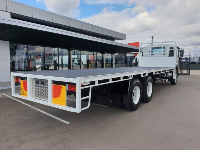 2017 Isuzu FVY 240-300 LWB Steel Tray