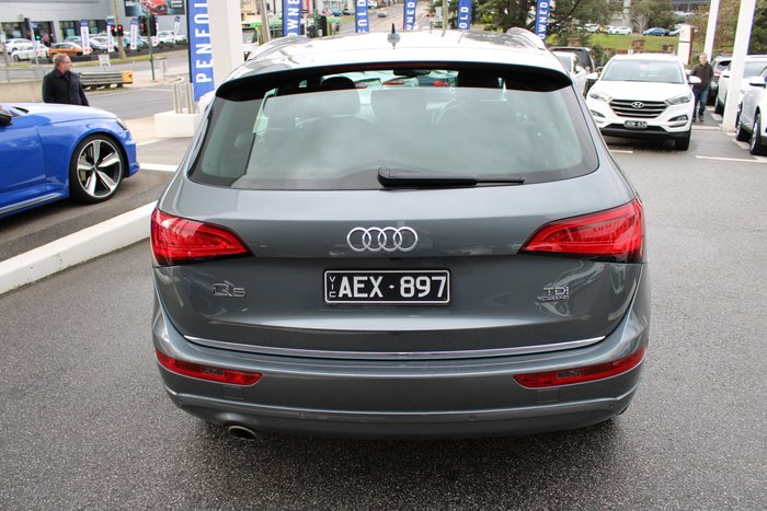 2014 Audi Q5 TDI 8R MY15 Four Wheel Drive Grey