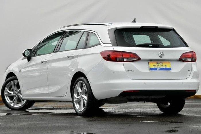 2017 Holden Astra LT BK MY18 White
