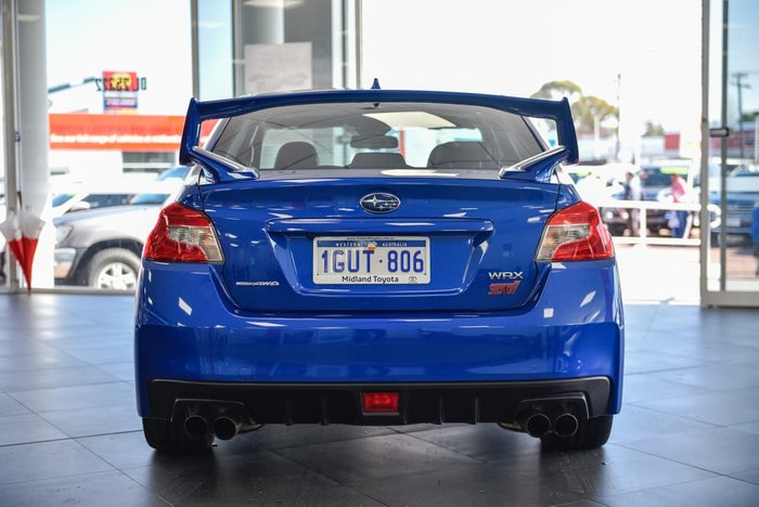 2017 Subaru WRX STI Premium V1 MY17 Four Wheel Drive Blue