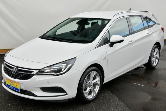 2017 Holden Astra LT BK MY18 SUMMIT WHITE