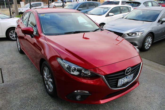 2016 Mazda 3 Maxx BM Series Red