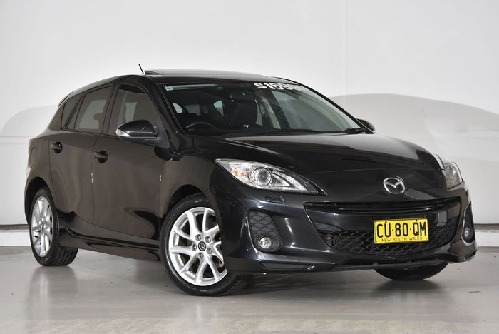 2013 Mazda 3 SP25 BL Series 2 MY13 Black