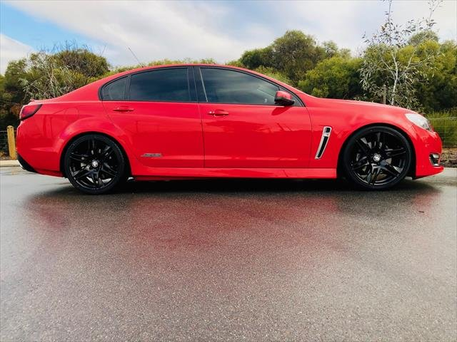 2017 Holden Commodore SS VF Series II MY17 RED