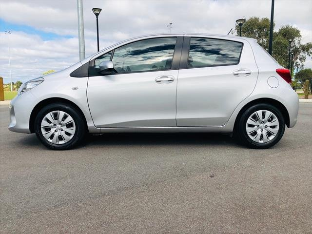 2017 Toyota Yaris Ascent NCP130R SILVER