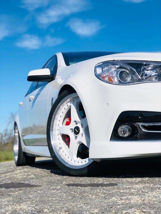 2015 Holden Commodore SS Storm VF MY15 WHITE