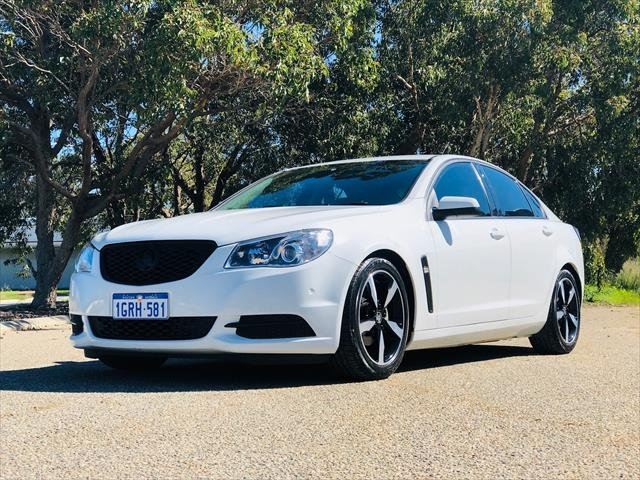 2015 Holden Commodore Evoke VF Series II MY16 WHITE