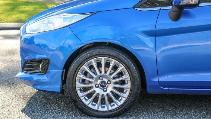 2015 Ford Fiesta Sport WZ MY15 Blue