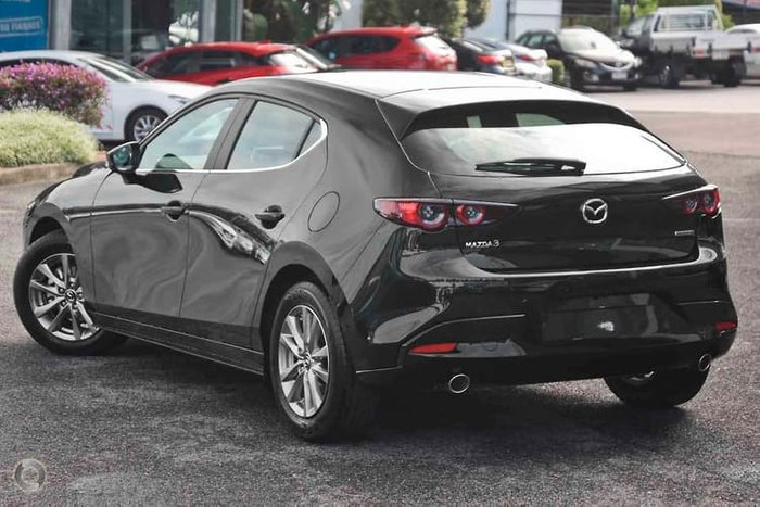 2019 Mazda 3 G20 Pure BP Series Black