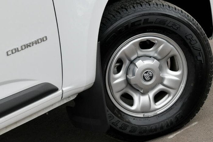2018 Holden Colorado LS RG MY19 White