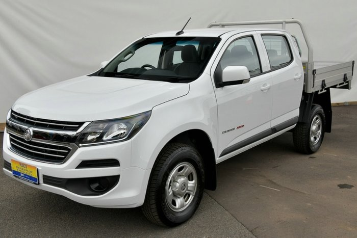 2018 Holden Colorado LS RG MY19 4X4 Dual Range SUMMIT WHITE