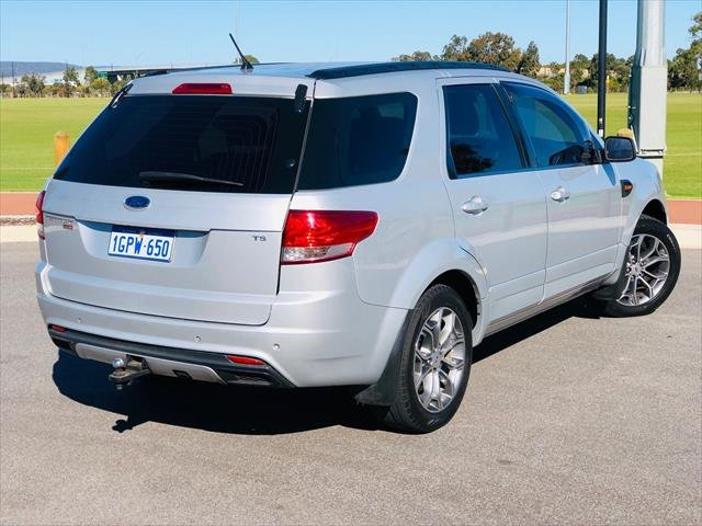 2012 Ford Territory TS SZ Four Wheel Drive LIGHTNING STRIKE