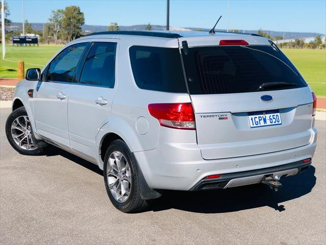 2012 Ford Territory TS SZ Four Wheel Drive LIGHTNING STRIKE