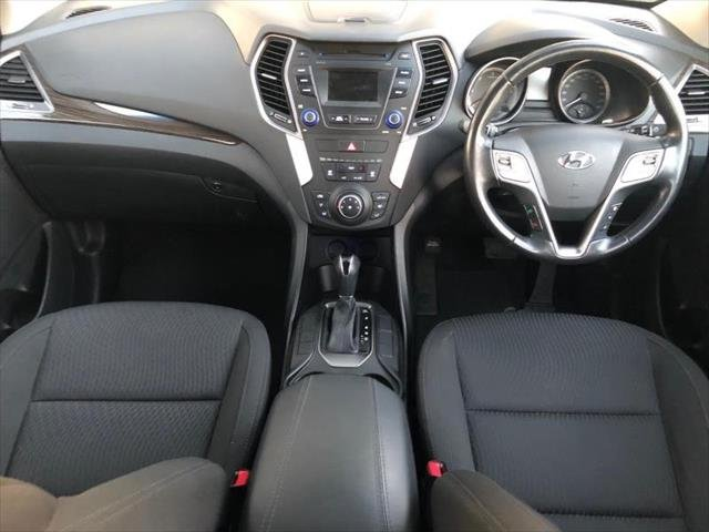 2012 Hyundai Santa Fe Active DM MY13 4X4 On Demand WHITE