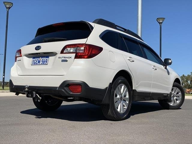 2016 Subaru Outback 2.0D 5GEN MY16 Four Wheel Drive CRYSTAL WHITE