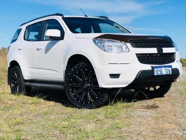 2014 Holden Colorado 7 LT RG MY14 4X4 Dual Range WHITE