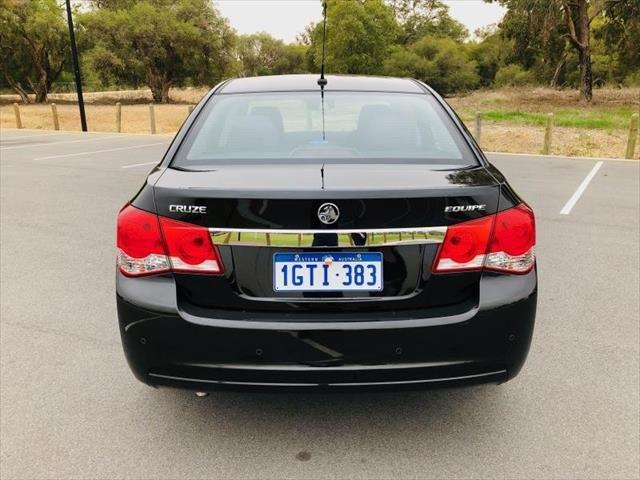 2016 Holden Cruze Equipe JH Series II MY16 BLACK